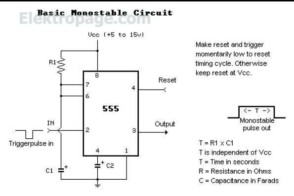 555 basic monostable circuit 555 basic monostable circuit 555 556 rh elektropage com