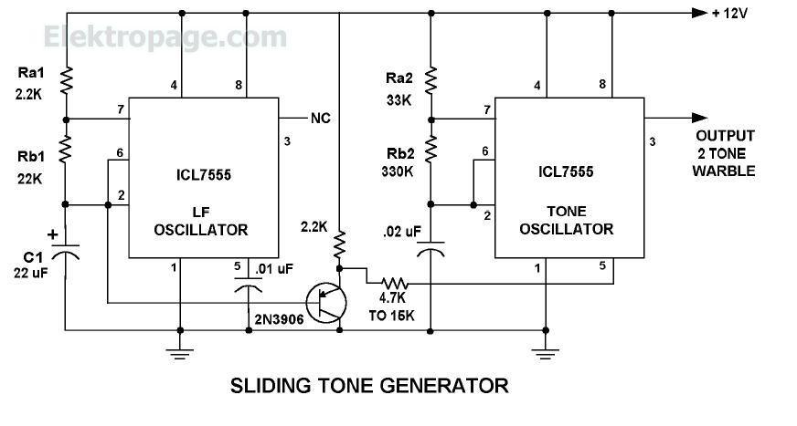 slideing tone generator