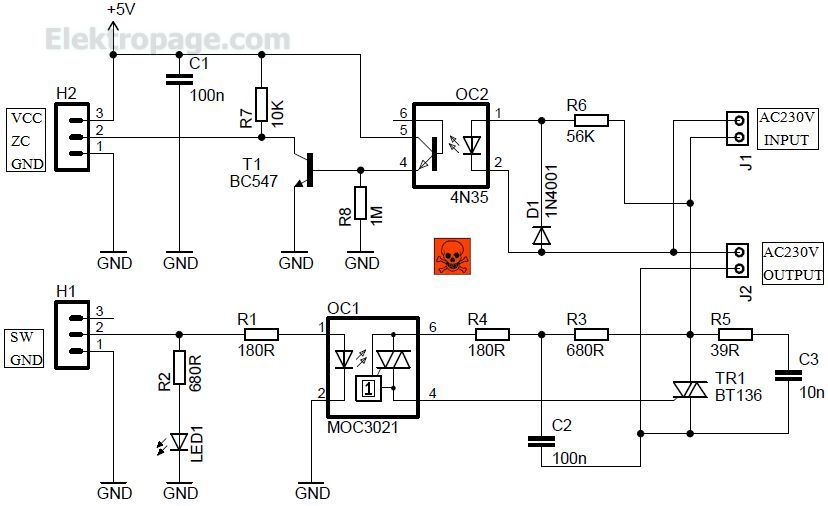 AC Light Dimmer Module With ZC Detector - Schematic Circuits ... on mute circuit schematic, light circuit schematic, toggle circuit schematic, control circuit schematic, halogen circuit schematic, bug zapper circuit schematic, turn signal circuit schematic, timer circuit schematic, diode circuit schematic, oscillator circuit schematic, clock circuit schematic, telephone circuit schematic, ignition circuit schematic, alternator circuit schematic, relay circuit schematic, thermostat circuit schematic, flash circuit schematic, radio circuit schematic, dmx circuit schematic, led circuit schematic,