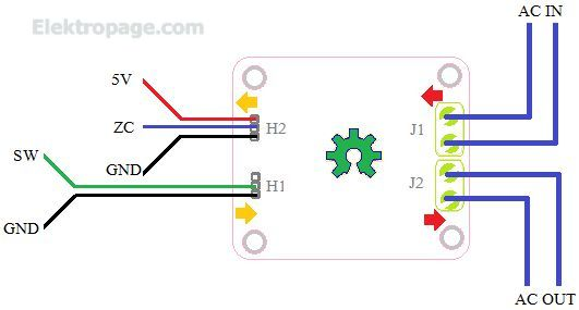 Ac Light Dimmer Module With Zc Detector - Schematic Circuits Elektropage