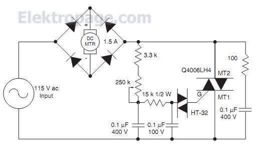 permanent magnet motor control
