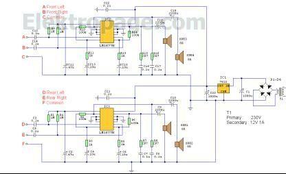 Lm1877N  Quadraphonic Amplifier