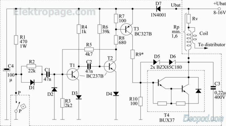 Top204 15v Switching Power Supply Circuit Diagram Electronic Project