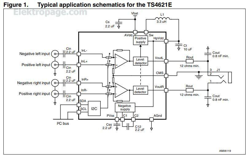 ts4621e - integrated circuits elektropage