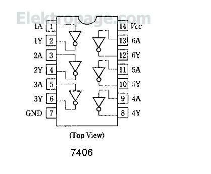 7406 HD74LS06 pin out diagram.JPG 226ED