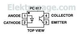 pc817 pin diagram FF543