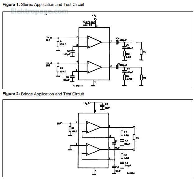 Tda2822d - Integrated Circuits Elektropage
