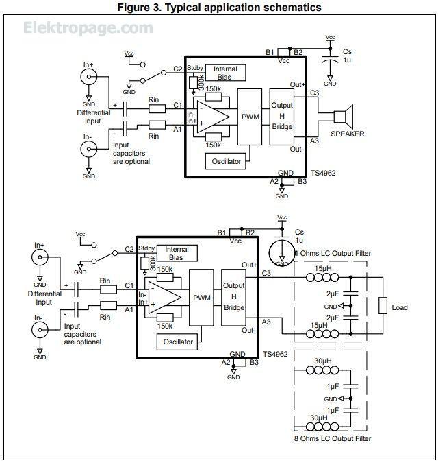 ts4962m - integrated circuits elektropage