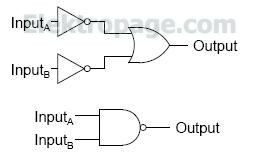 2 input OR gate equivalent circuits