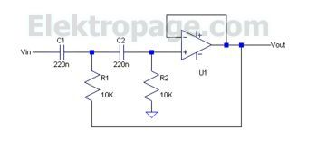 active filter Op-amp
