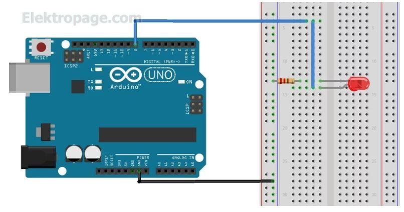 How To Use The Arduino U2019s Digital I  O - Arduino Elektropage