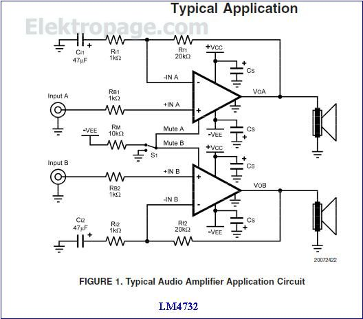 lm4732 typical uses appliation