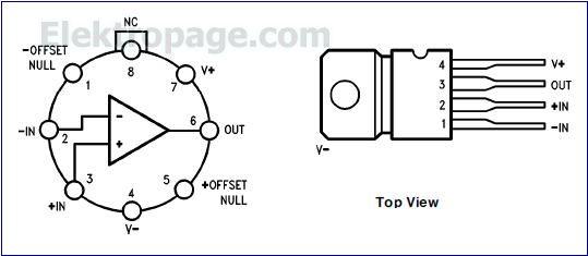 lm759 ic pinout diagram